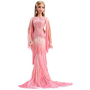 <em>Blush Fringed Gown</em> Barbie® Doll