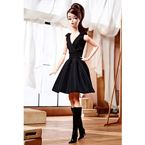 <em>Classic Black Dress</em> Barbie® Doll (Brunette)