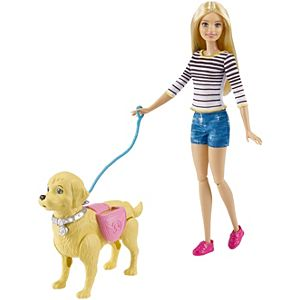 Barbie® Walk & Potty Pup