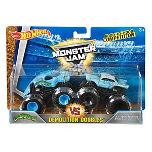 Hot Wheels® Monster Jam® Demolition Doubles® Crushstation Vs Avenger Vehicles