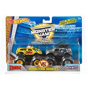 Hot Wheels® Monster Jam® Demolition Doubles ® Zombie™ Vs Mohawk Warrior Vehicles