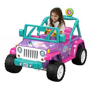 Power Wheels® Nickelodeon™ Shimmer And Shine™ Jeep® Wrangler