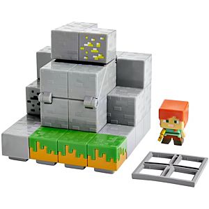Minecraft Waterfall Wonder Mini Figure Environment Set