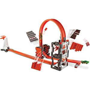 Hot Wheels® Track Builder Construction Crash Kit