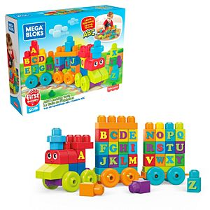 Mega Bloks® ABC Learning Train Building Set