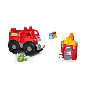 First Builders™ Fire Truck Rescue