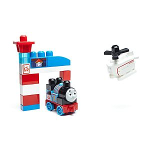 Mega Bloks Thomas and Friends - Thomas and Harold Rescue Building Set