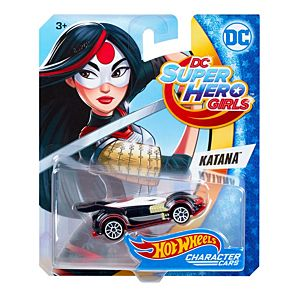 Hot Wheels® DC™ Super Hero™ Katana™ Character Car