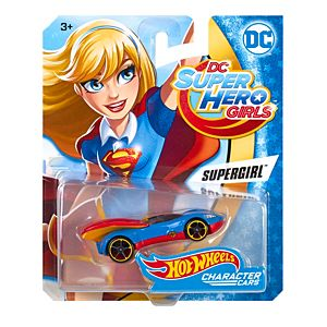 Hot Wheels® DC™ Super Hero™ Supergirl™ Character Car