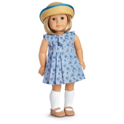 """Cream Flower Mary Jane Dress Shoes Fits 18/"""" American Girl Doll Clothes Shoes"""
