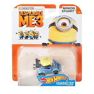 Hot Wheels® Despicable Me Minion Stuart Vehicle