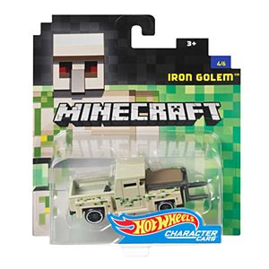 Minecraft® Hot Wheels® Iron Golem™ Vehicle