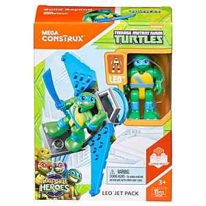Mega Bloks Teenage Mutant Ninja Turtles Leo's Jet Pack Figure