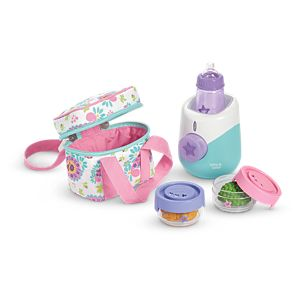 Bitty Baby's Bottle Warmer Set