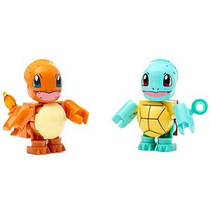 Mega Construx™ Pokemon™ Squirtle vs. Charmander