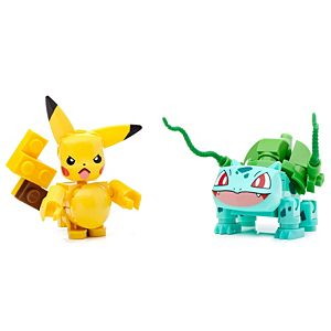 Mega Construx™ Pokemon™ Pikachu vs. Bulbasaur
