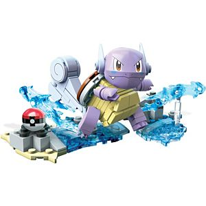 Mega Construx™ Pokemon™ Wartortle Buildable Figure