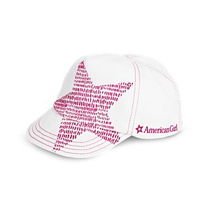 Shining Star Baseball Hat for 18-inch Dolls