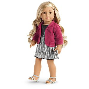 Tenney's Sparkling Performance Outfit for 18-inch Dolls