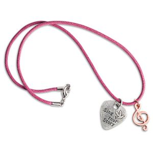 Tenney's Musical Necklace for Girls