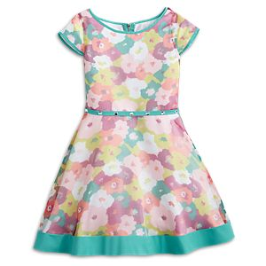 Bright Blooms Dress for Girls