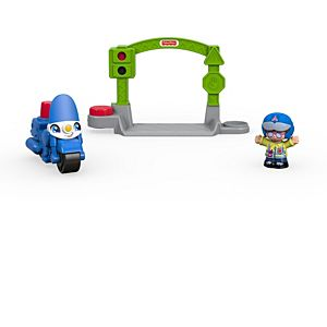 Little People® Stop & Go Police Motorcycle