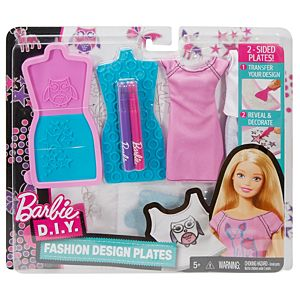Barbie® D.I.Y. Fashion Design Plates