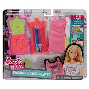 Barbie® D.I.Y. Fashion Design Plates Set