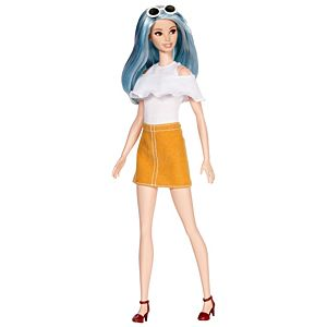 Barbie® Fashionistas® Doll 69 Blue Beauty – Tall