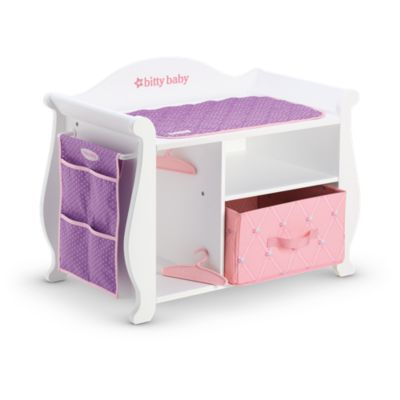 CHANGING TABLE - STORAGE   American Girl