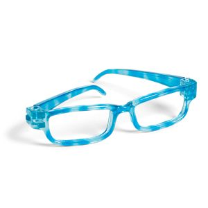 Turquoise Glasses for Dolls