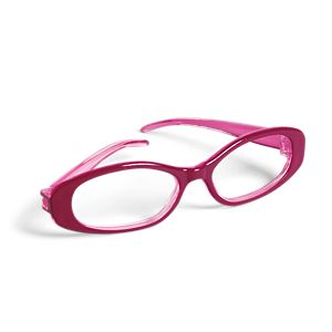 Rosy Glasses for Dolls