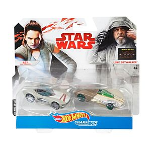 Hot Wheels® Star Wars™ Rey, Jedi Training™ & Luke Skywalker™