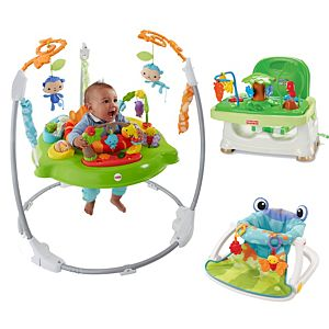 Ultimate Baby Shower Gift Set (Rainforest Collection)