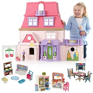 Loving Family™ Dollhouse & Room Starter Gift Set