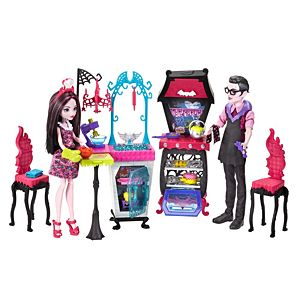 Monster High® Monster Family Vampire Kitchen Playset & 2-Pack Dolls