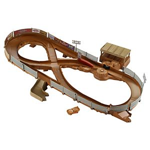 Disney•Pixar Cars 3 Thunder Hollow Criss-Cross Track Set