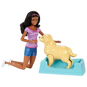 Barbie® Newborn Pups Doll & Pets