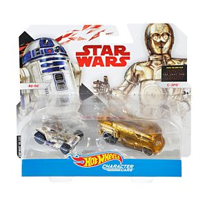Hot Wheels® Star Wars™ C3-PO™ & R2-D2™ Vehicles
