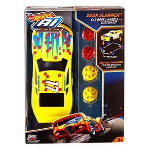 Hot Wheels® Ai Door Slammer™ Car Body & Wheels Custom Kit