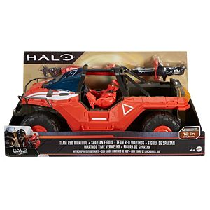 Halo® Warthog & Master Chief Mark IV