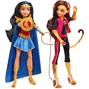 SDCC Exclusive DC Super Hero Girls™ Wonder Woman™ & Cheetah™ Dolls