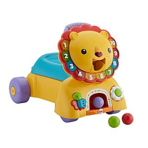 3-In-1 Sit, Stride & Ride Lion