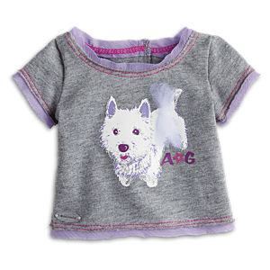 Graphic Fashion Tee for Dolls