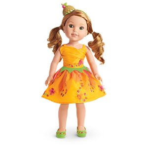 Twirling Tulip Costume for WellieWishers™ Dolls