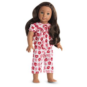 Nanea's Tropical PJs for 18-inch Dolls