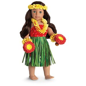 75abdb1fba266 Nanea's Holoku Dress for 18-inch Dolls | American Girl