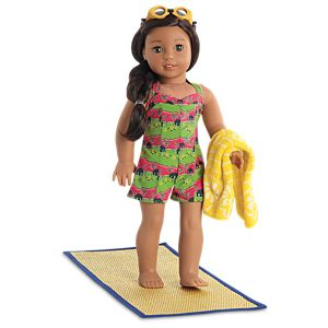 Nanea's Island Swimsuit for 18-inch Dolls
