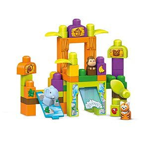 Mega Bloks® Storytelling Safari Friends Zoo