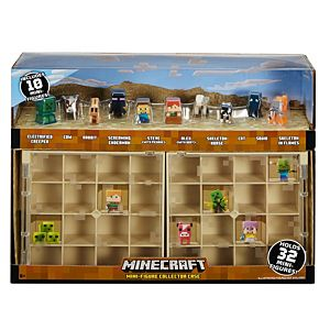 Minecraft Collector Case And Mini Figure